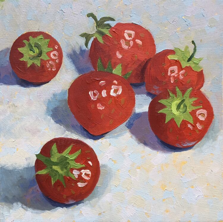 'Strawberries' SOLD