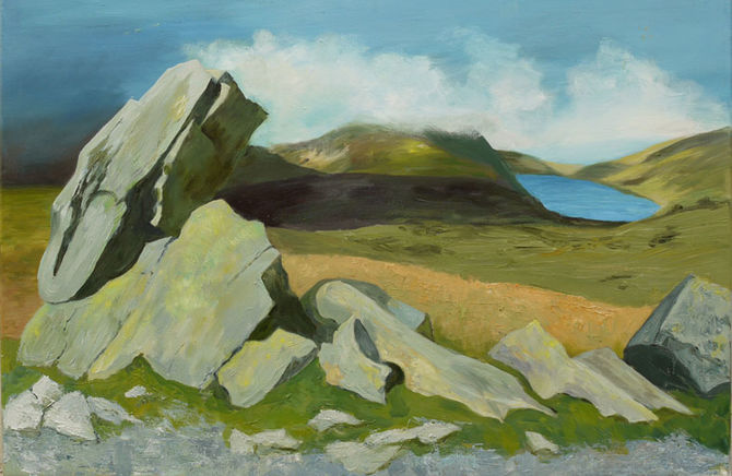 Rocks at Rhyd Ddu