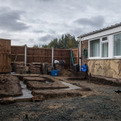 Walled garden footings