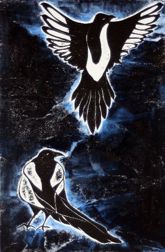 Magpies: One for sorrow, Two for Joy
