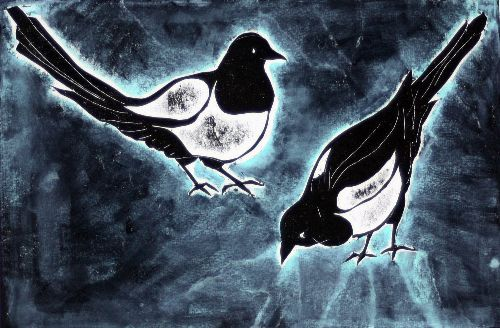 Magpies: NIne for wish, Ten For A Bird That Shouldnt Be Missed