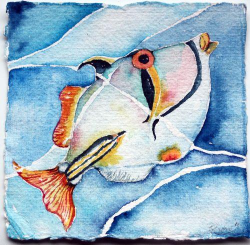 Picasso Fish