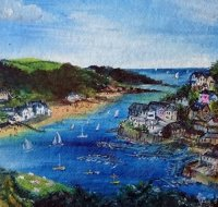 Salcombe from Snapes