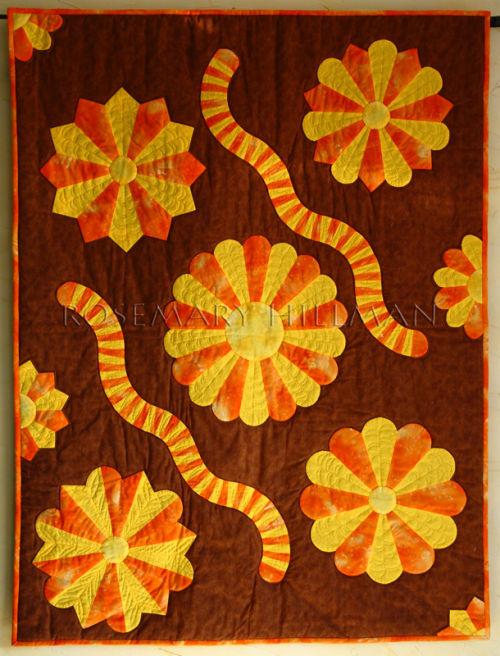 Dresden Plate Workshop Sample