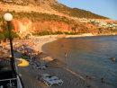 Kalkan beach at sunset