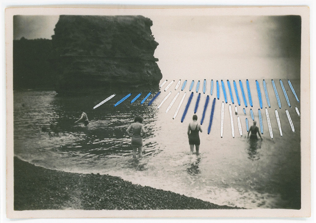 Bathers in the swell