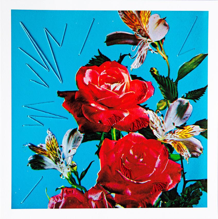 Still life (coming up roses)
