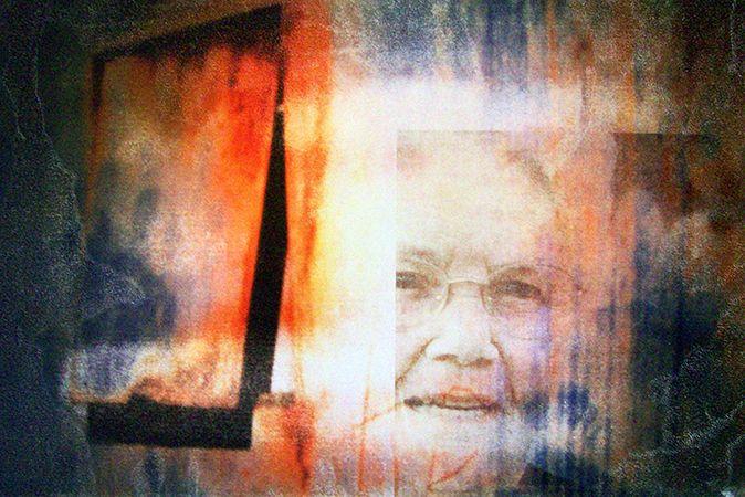 'Older now', Giclée print on Fine Art Paper