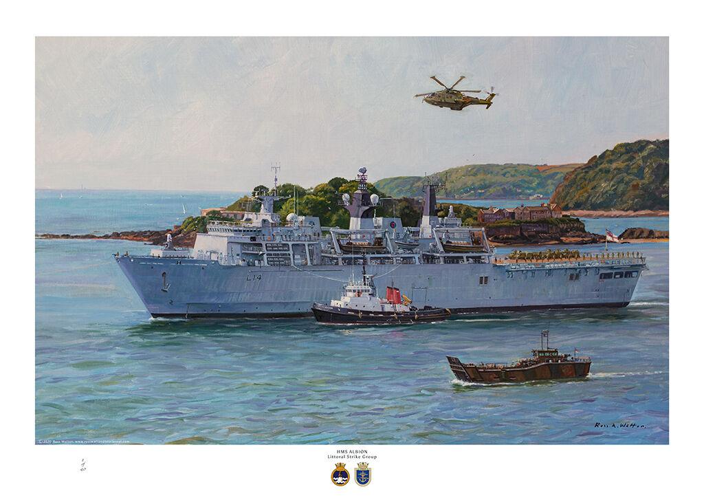 HMS Albion Littoral Strike Group