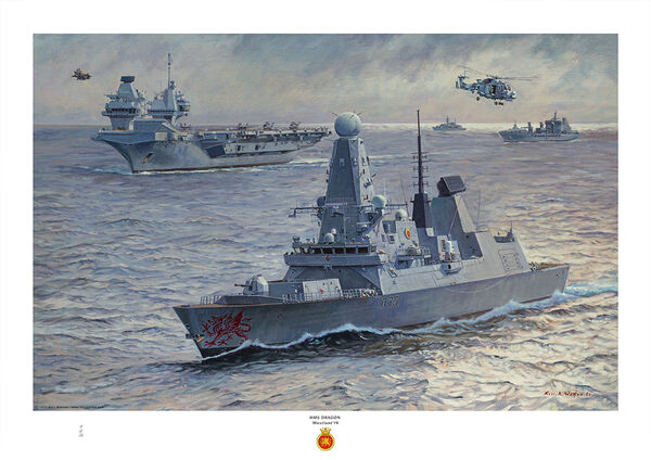 HMS Dragon, HMS Manchester, HMS York, HMS Severn
