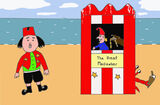 Mr Cawber's Punch and Judy Stall