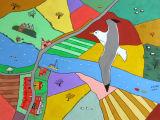 The Gull flies over Beaulieu