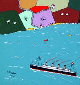 The Titanic approaches Ireland