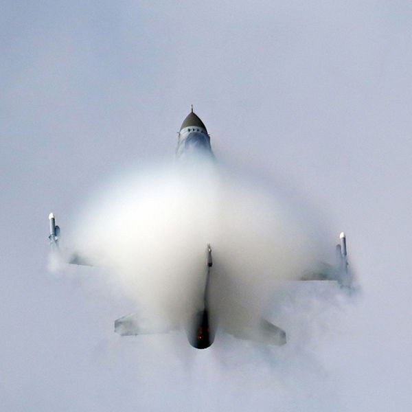 F16 in vapour