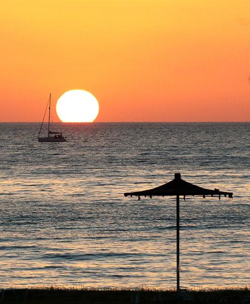 N106 Cyprus sunset