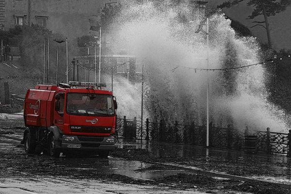 N112 Clevedon storm