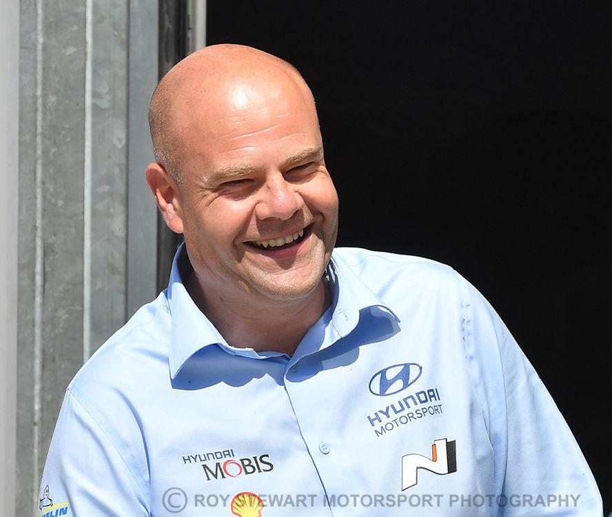 Andrea Adamo, Hyundai Team Principal