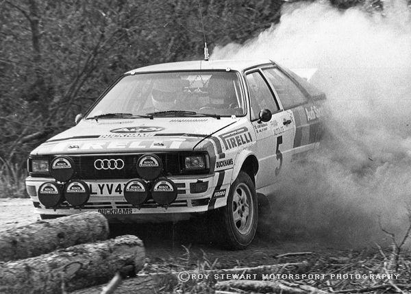 Bjorn Waldegard, Welsh Rally 1982