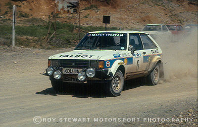 Guy Frequelin/Jean Todt, Acroplis Rally 1981