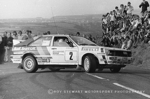 Hannu Mikkola, Manx Rally 1982