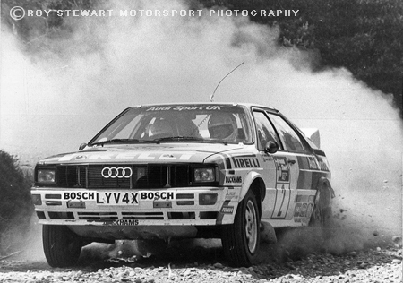 Hannu Mikkola, Scottish Rally 1982