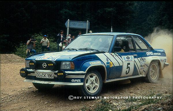 Jochi Kleint, Acropolis Rally 1981