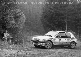Louise Aikan Walker/Jerry Williams, Audi Sport Rally, Wales 1988