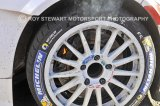 Solberg Stage Finish Brake Fire