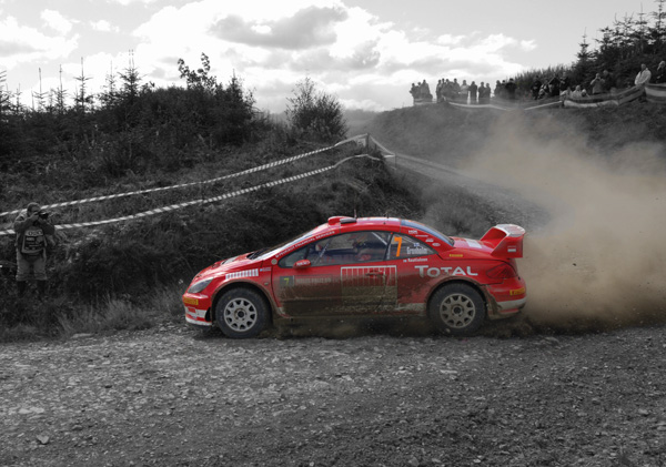 Marcus Gronholm, Rally GB 2005
