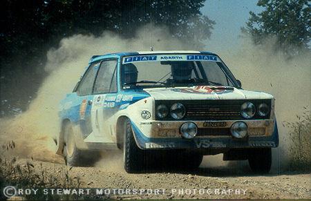 Markko Alen, Acropolis Rally 1981