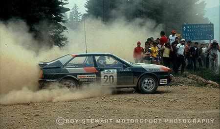 Michelle Mouton, Acropolis Rally 1981