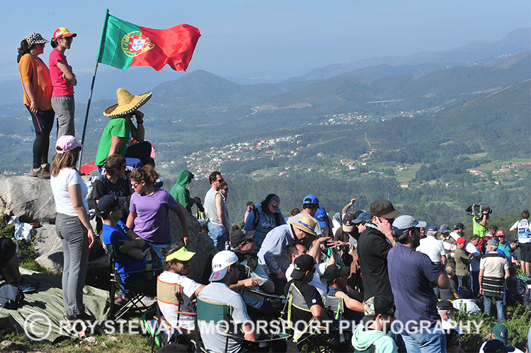 Rally Portugal fans