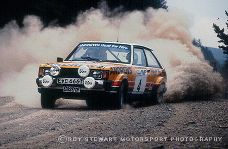 Russell Brookes, Welsh Rally 1980