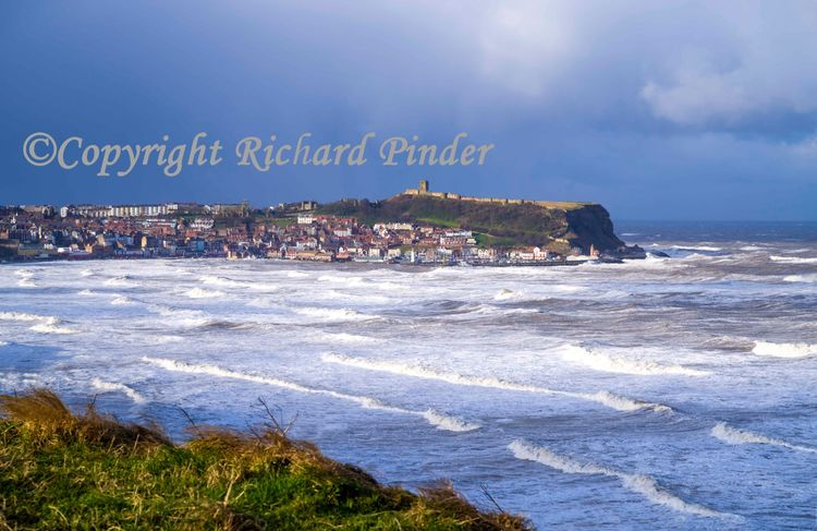 Stormy Sea in Scarborough South Bay