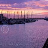 Bridlington Harbour at Dawn