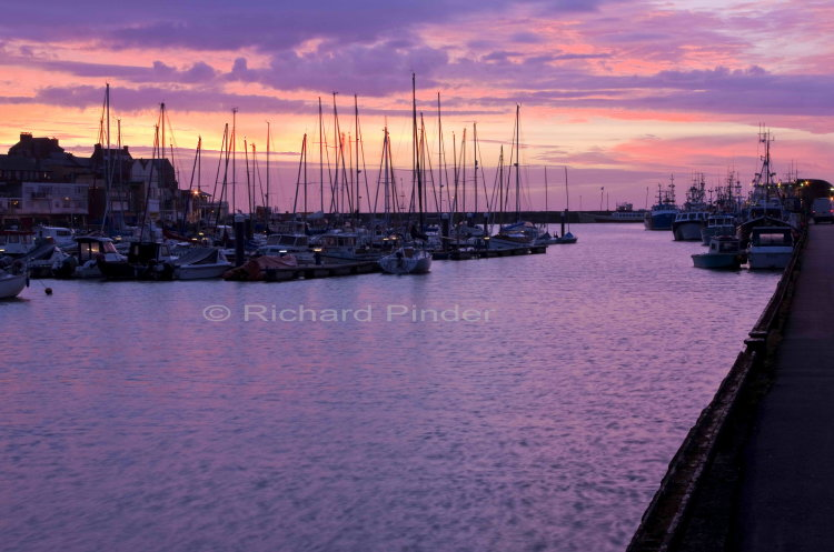 Daybreak Bridlington Harbour