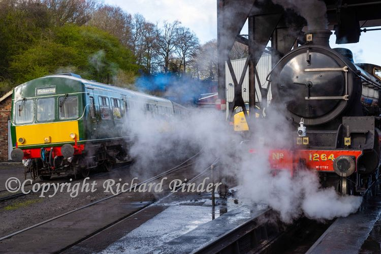 Steam and Diesel.