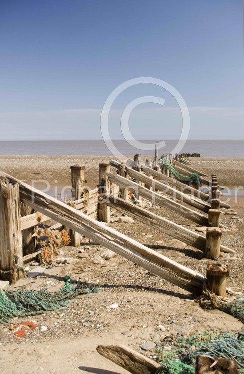Spurn Peninsula Breakwater, East Yorkshire