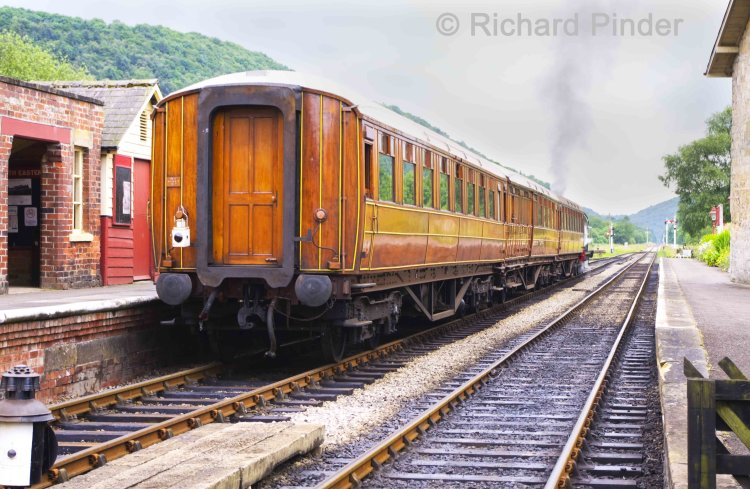 LNER Teak Passenger Carriages.