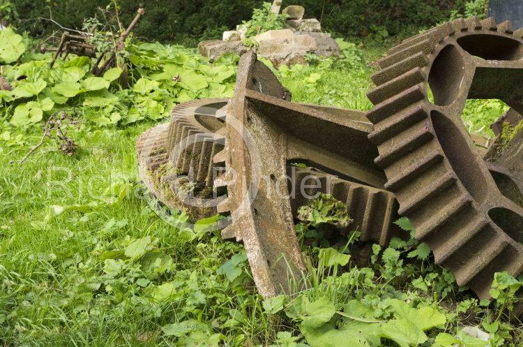 Mill Wheels, Howsham Water Mill
