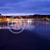 Evening over Scarborough South Bay