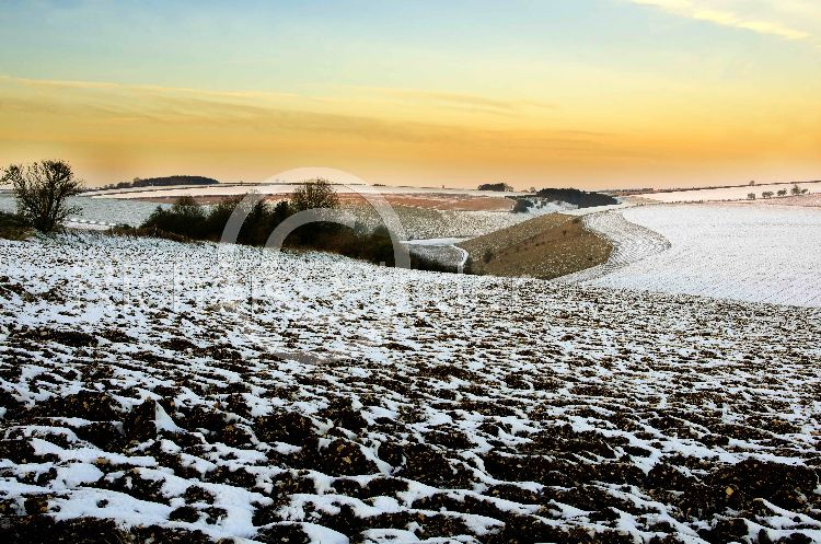 Snow on the Yorkshire Wolds