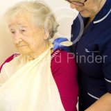 Senior Lady with Arm in Sling