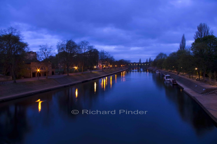 Evening over the River Ouse