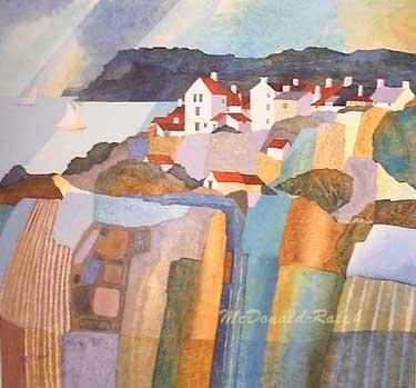 Sea Village I by Gillian McDonald
