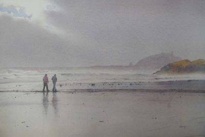Beach Conversation by Rob Piercy