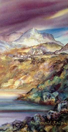 Light on the Loch II by Gillian McDonald