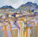 Mountain Village III by Gillian McDonald