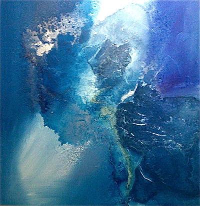 Blue Symphony by Robin Mullen