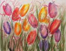 original floral watercolour by Jay